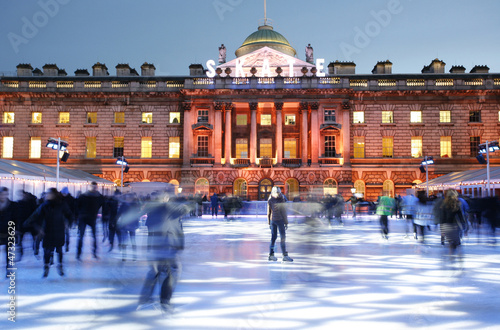 London Somerset House Ice Rink
