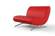 Ergonomischer Designer Sessel Rot