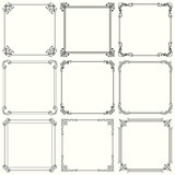 Decorative frames  (set 28)