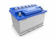 Car battery. 3d - 47324083