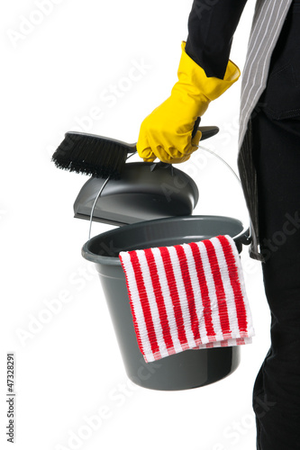 Cleaner with equipment