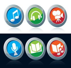Entertainment icon