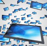 Tablet-PC Schwarm - Schwarz Blau