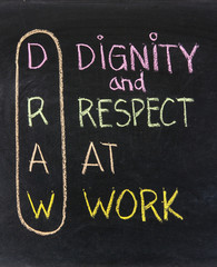 dignity and respect at work