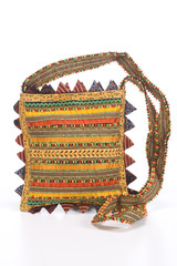ethnic handbag, embroidery , Jodhpur, Rajasthan, India
