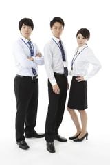 ビジネスイメージ・男女3人