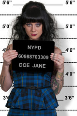 Woman Mugshot