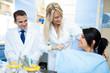 preparation of a dentist treatment