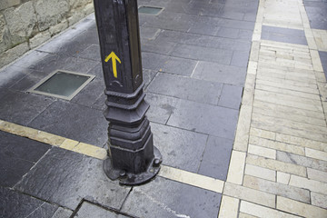 Yellow Arrow Santiago