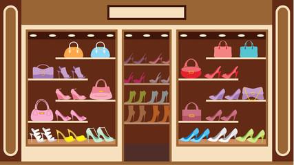 Shop of shoe