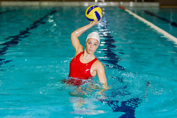 Waterpolo girl