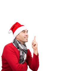 Aufgepasst Weihnachten kommt, isoliert