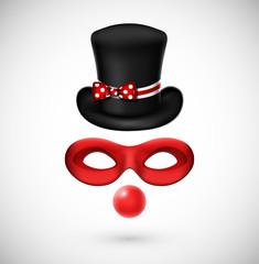 Accessories a clown