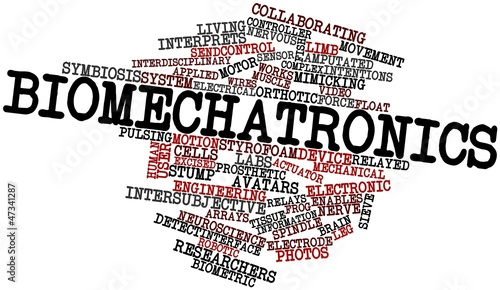 Word cloud for Biomechatronics