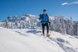 Schneeschuhtour in den Bergen