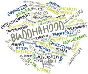 Word cloud for Buddhahood