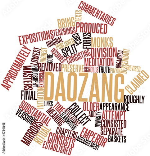 Word cloud for Daozang