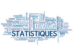 """Nuage de Tags """"STATISTIQUES"""" (analyse graphique données courbe)"""