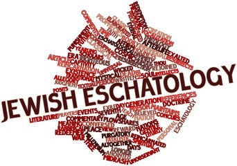 Word cloud for Jewish eschatology