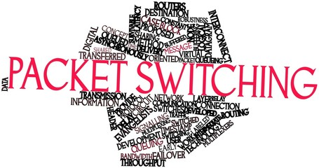 Word cloud for Packet switching