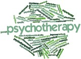 Word cloud for Psychotherapy