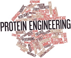 Word cloud for Protein engineering