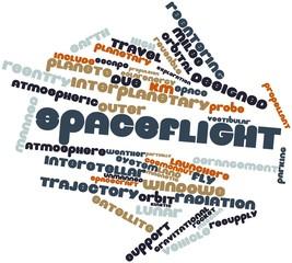 Word cloud for Spaceflight