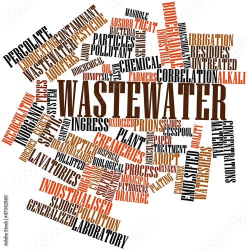 Word cloud for Wastewater