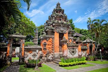 Entrance gate of Negeri Propinsi Museum in Denpasar,  Bali