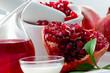 Organic cosmetics - pomegranate, healthy cosmetics