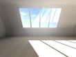 Dachwohnung mit Fenster