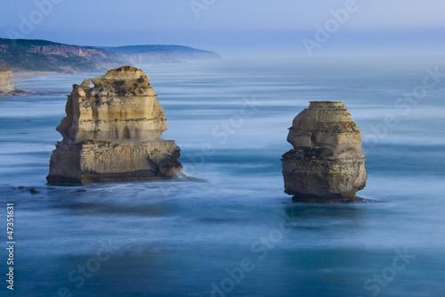 Twelve Apostles nach Sonnenuntergang Great Ocean Road Australien