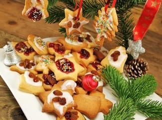 feines Gebäck zur Weihnachtszeit