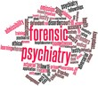 Word cloud for Forensic psychiatry
