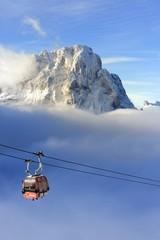 Val Gardena Sassolungo, Cabinovia per Danterpieces, Dolomiti