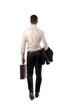 Businessman Back
