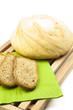 Pan tostado y pan blanco