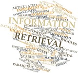 Word cloud for Information retrieval