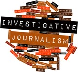 Word cloud for Investigative journalism