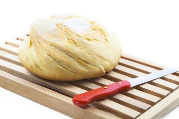 Pan para cortar en tabla