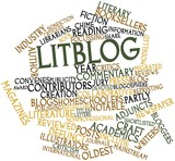 Word cloud for Litblog