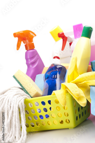 Cleaning items set