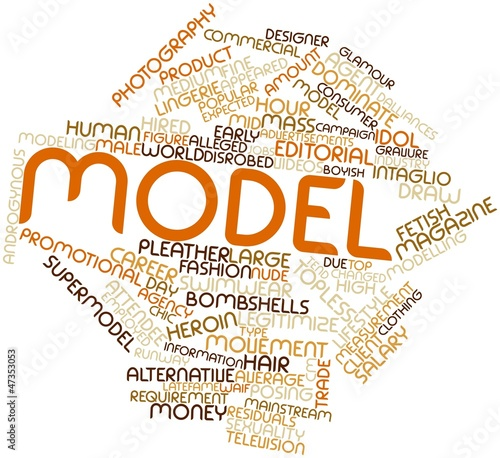 Word cloud for Model