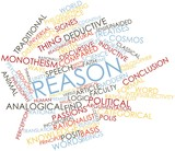 Word cloud for Reason poster