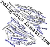 Word cloud for Religious fanaticism