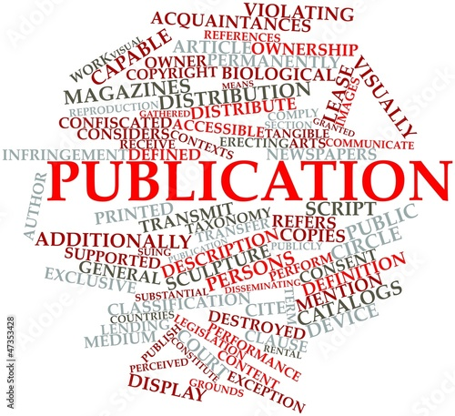 Word cloud for Publication