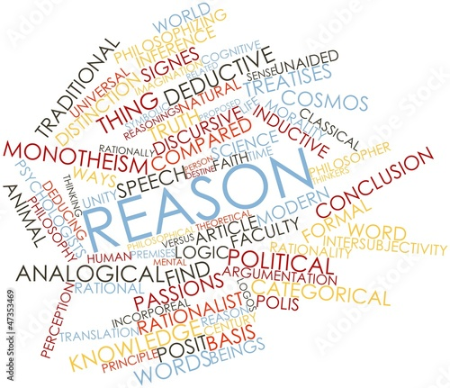Word cloud for Reason
