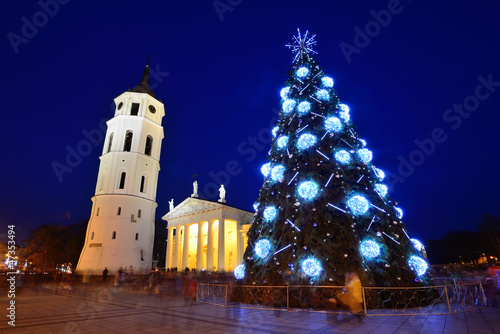 City Christmas Tree, Vilnius city, Lithuania