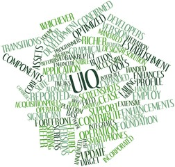 Word cloud for UIQ