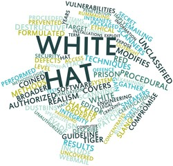 Word cloud for White hat